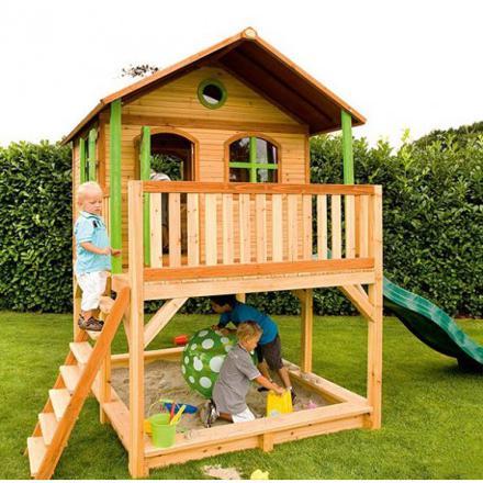 cabane en bois pour enfant