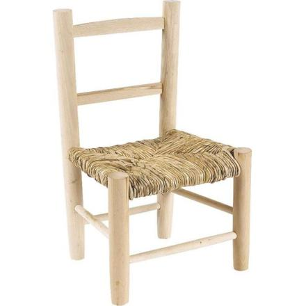 chaise en bois enfant