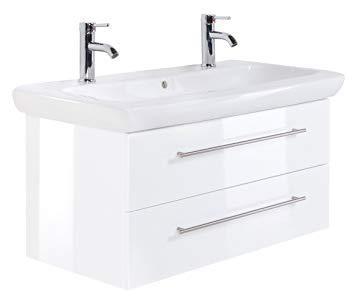 double vasque 100 cm