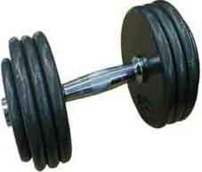 haltères de musculation