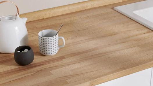 plan de travail en bois