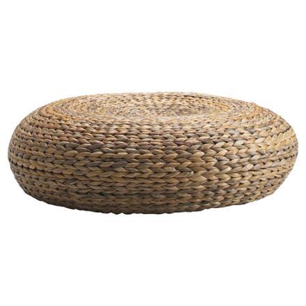pouf en osier