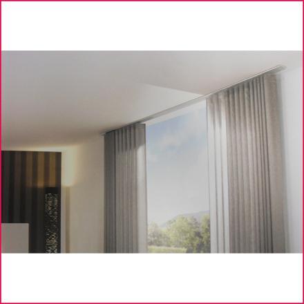 rail rideau plafond extra plat
