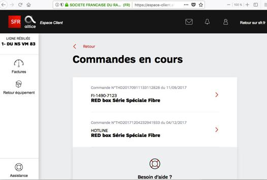red sfr espace client