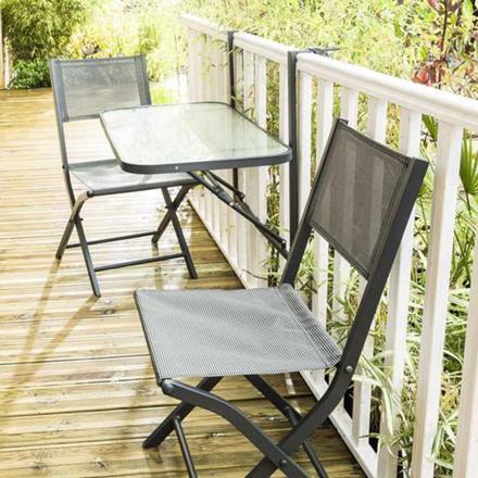 table de balcon pliante