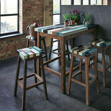 table haute bar