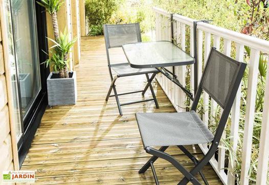 table pliante balcon