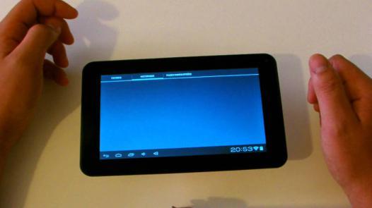 tablette polaroid