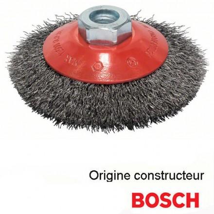 2/Brosses C/ône /ø 125/mm gezopfte pon/çage Brosse M14/x 2/Brosse m/étallique